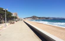 Ллорет Де Мар,пляж.