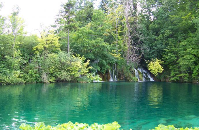 """Национальный парк – """"Плитвицкие озера""""."""