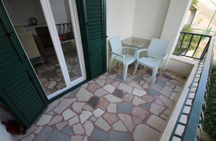 Апартаменты Мари,балкон
